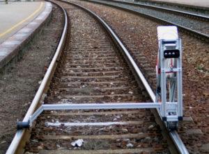 controlli non distruttivi su binari ferroviari