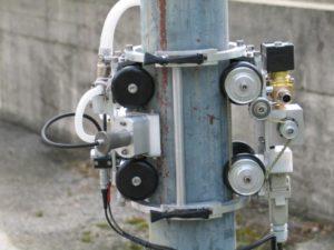 carrello controllo tubi
