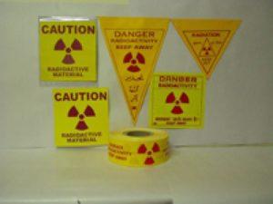 cartelli pericolo radiazioni