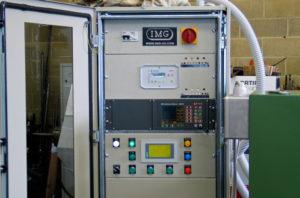 quadro sistema controllo lamiera IMG ultrasuoni