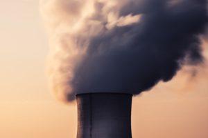 fumo centrale nucleare