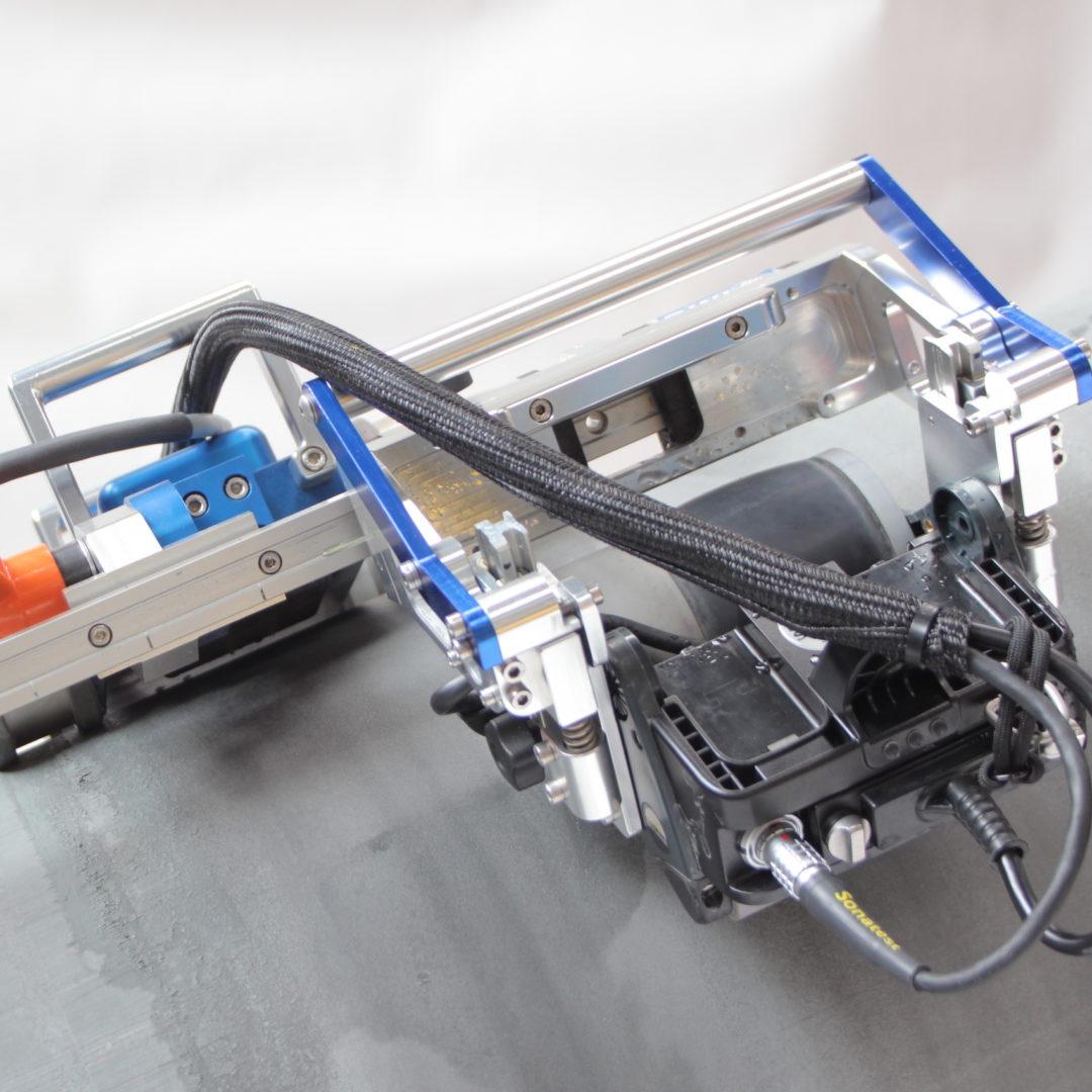 foto scanner controllo tubi
